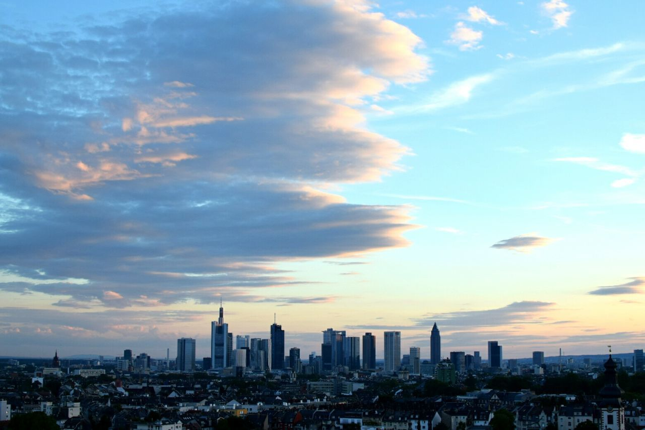 Frankfurt Cloud - Sky City Cityscape Sky Urban Skyline Skyscraper Dramatic Sky Nikon NIKON D5300 Nikonphotography Blue Skyline Skyline Frankfurt Frankfurt Am Main Frankfurt City  Frankfurtlovers Day Downtown District No People