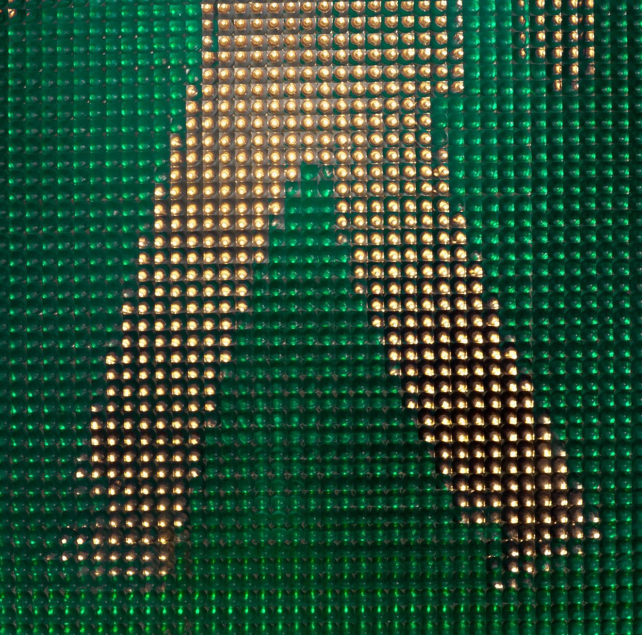 Muster Mix Lighting Equipment Pattern, Texture, Shape And Form Textures And Surfaces Full Frame Green Color Backgrounds Illuminated Go For A Walk Film Abstract Lines, Colors & Textures Geometric Shape Traffic Lights Streetart StreetArtEverywhere You & You Maximum Closeness Color Design Space