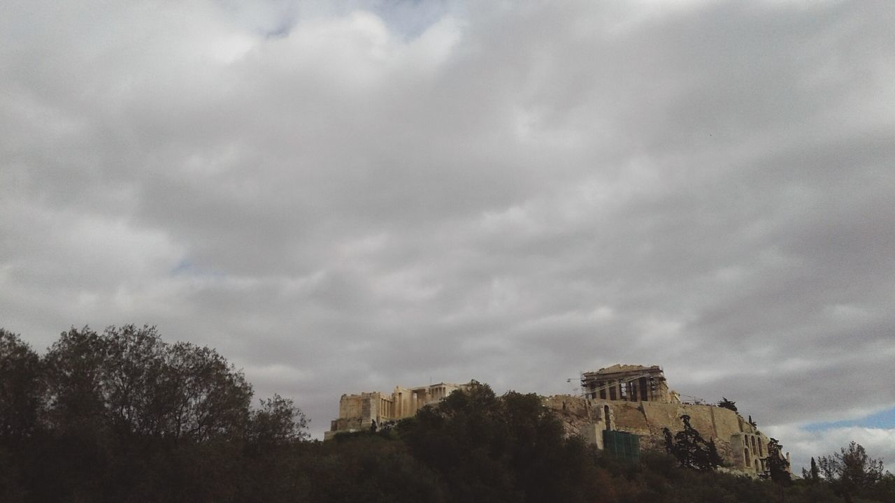 Acropolis Tree Sky Cloud - Sky Nature Cloudscape No People Low Angle View Dramatic Sky Treetop Outdoors Day AcropolisMuseum Acropolis, Athens Parthenon Acropolis Parthenon Acropolis Greece Athens, Greece Greece Low Angle View Athens Built Structure Architecture