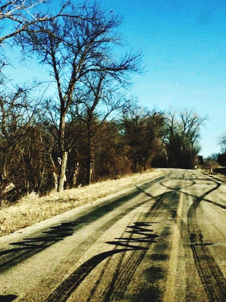 Hidden Gems  Perry Kansas DragStreet Burnout Bridge Road