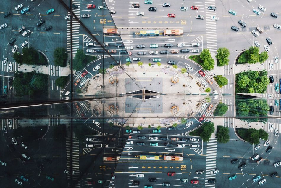 Beautiful stock photos of flugzeug,  Aerial View,  Backgrounds,  Built Structure,  City