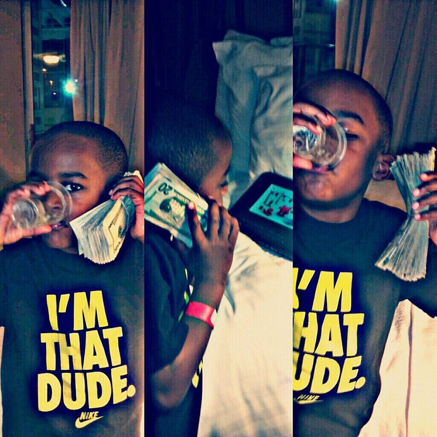 Lil Bro Phn #Clickin, ONLY PICK UP FOR THE MONEY WHEN ITS CALLIN #HELLO