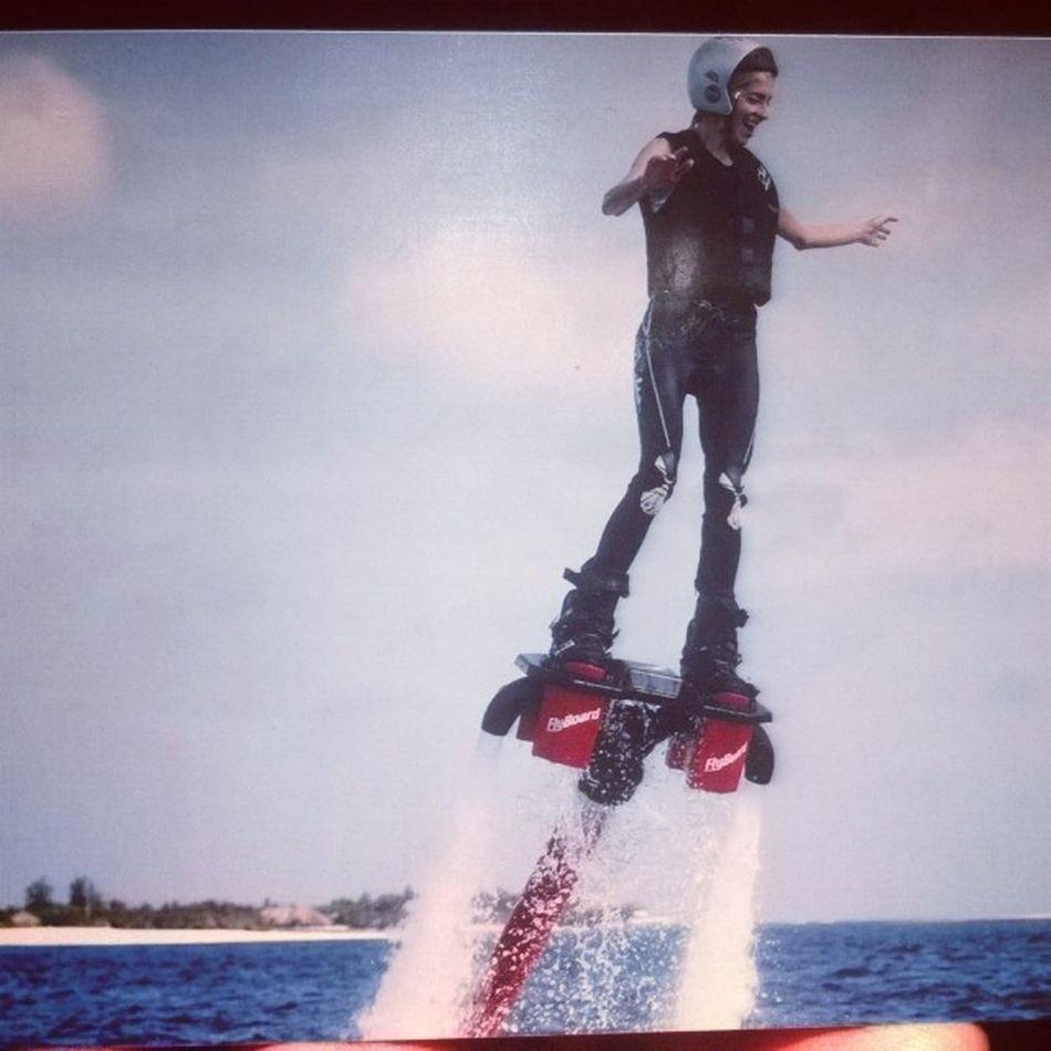 мое новое увлечение - Skyboarding ?  море Maldiwes Cooltime Skyboarding Мальдивы