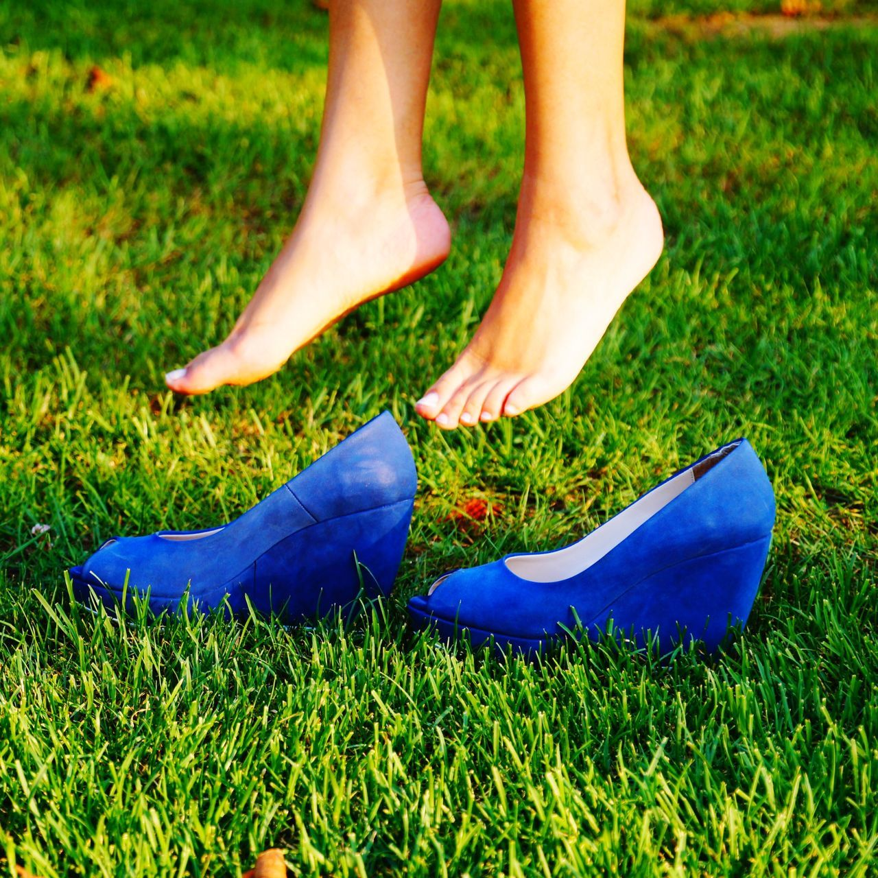 Low Section Grass Human Leg One Person Shoe Day Human Body Part Green Color Outdoors One Man Only Adult Adults Only People Nature Close-up Cinderella