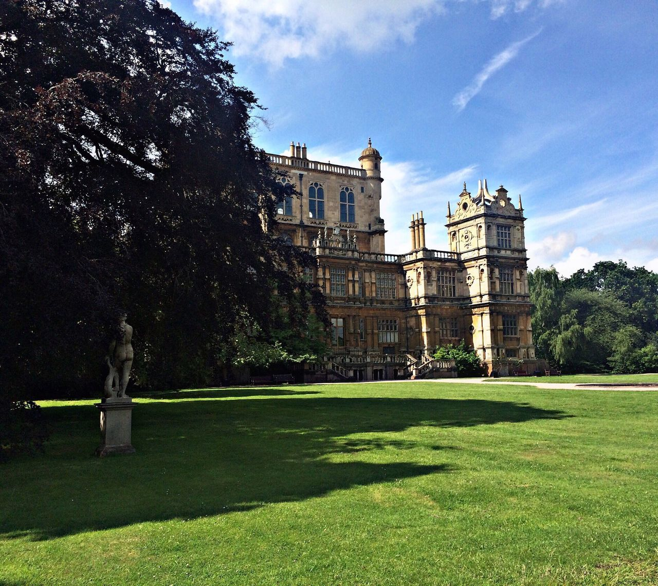 A shot of Wollaton hall I took very recently 🤓🤓🏰🏰🏰 Wollaton Hall Deer Park Castle Nottingham Sunny Beautiful IPhone Iphone6 July 2016 EyeEm Best Shots 2016 EyeEm Awards Eye4photography  EyeEm Gallery EyeEmBestPics EyeEm Masterclass