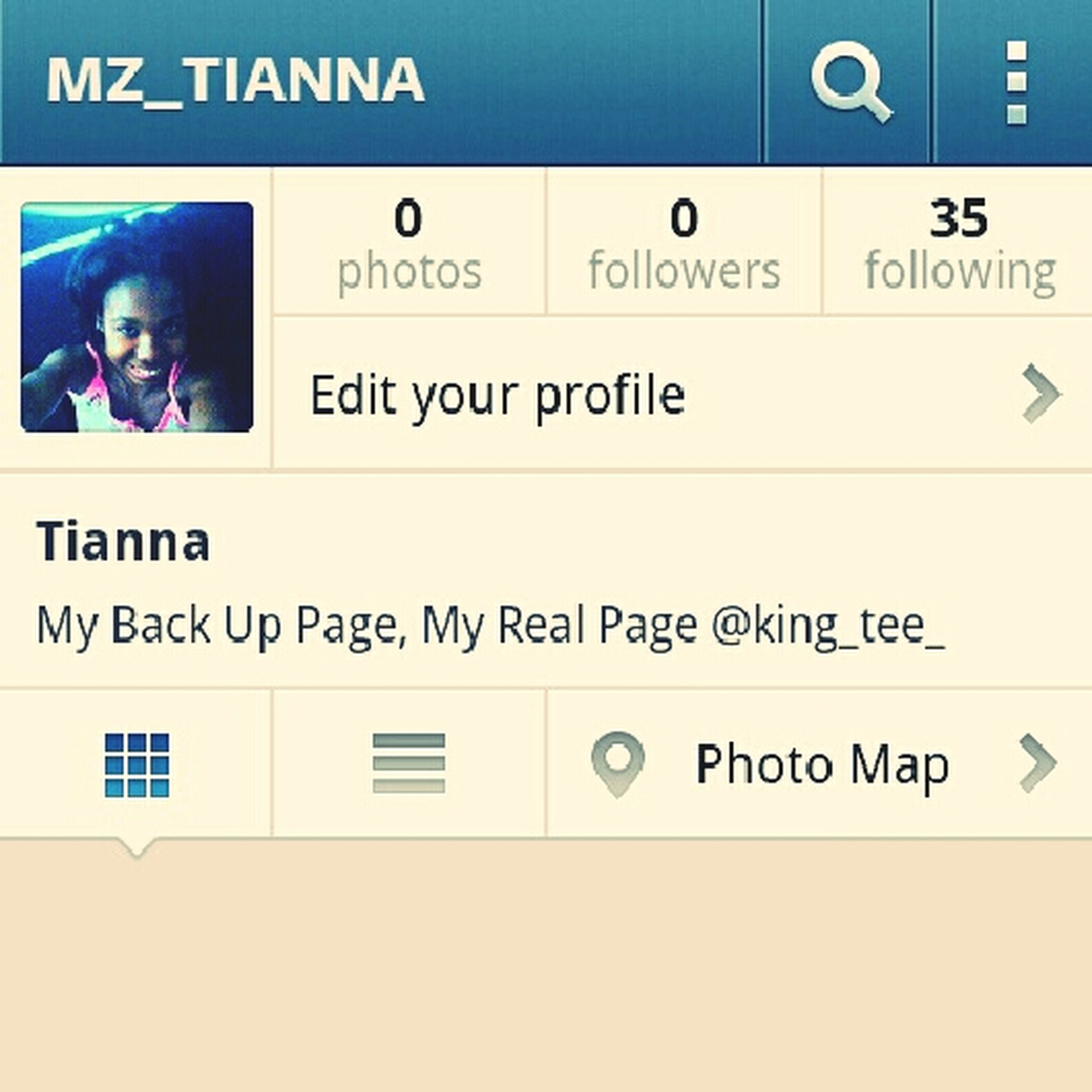 Follow My Back Up Page On Instagram