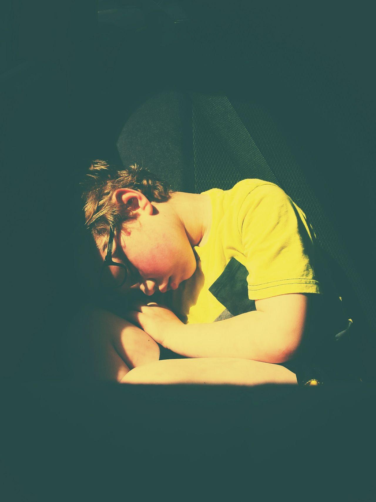my sleepy boy! Happymothersday Beautiful Day Sleepy CarRides Roadtrip