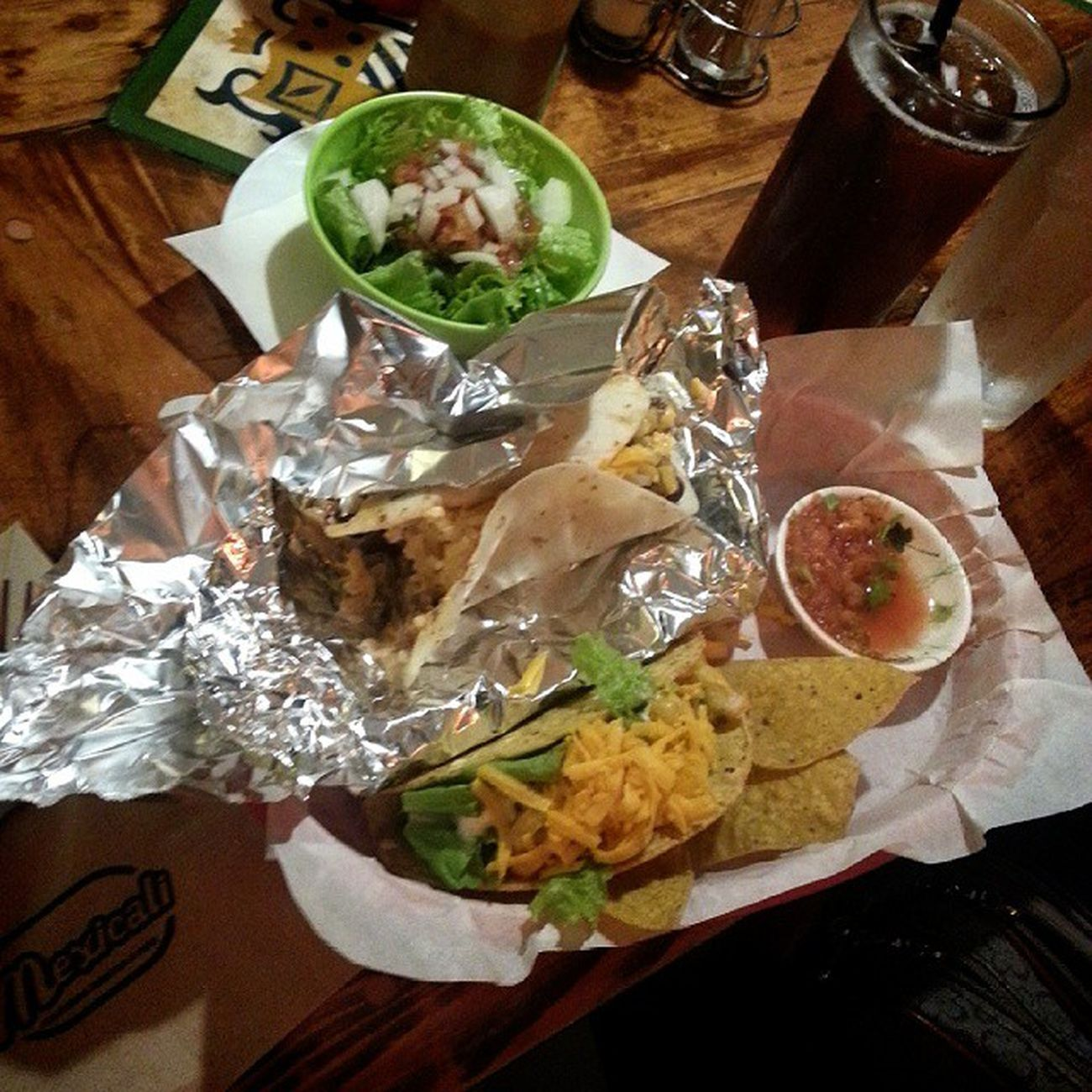 buritos, tacos & salad ? Craving