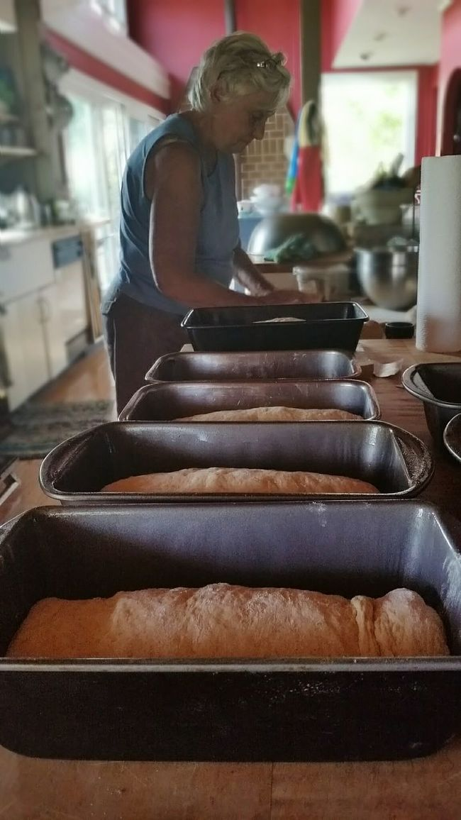 RePicture Motherhood Learn & Shoot: Layering My Mom The Bread Queen Baking The Best