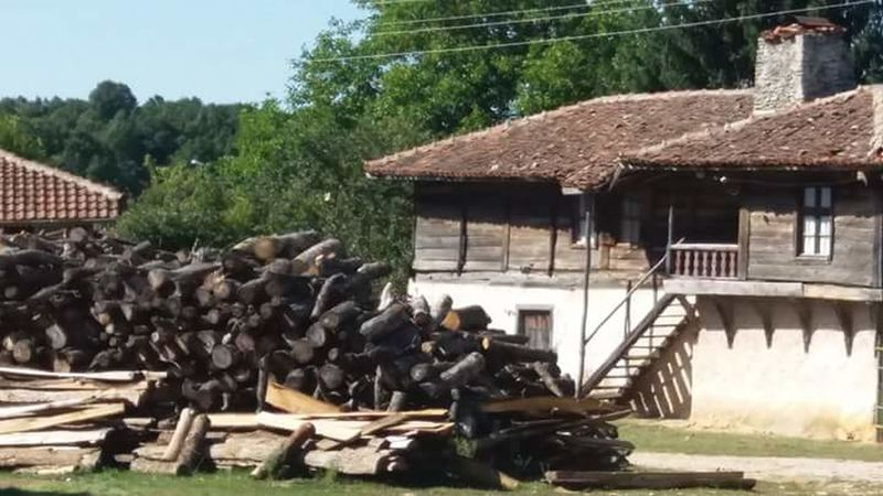 Bulgarian Nature Village Photography Architecture Building Exterior Built Structure Outdoors Nature Tree Wood Paneling Woods I Am New Here.