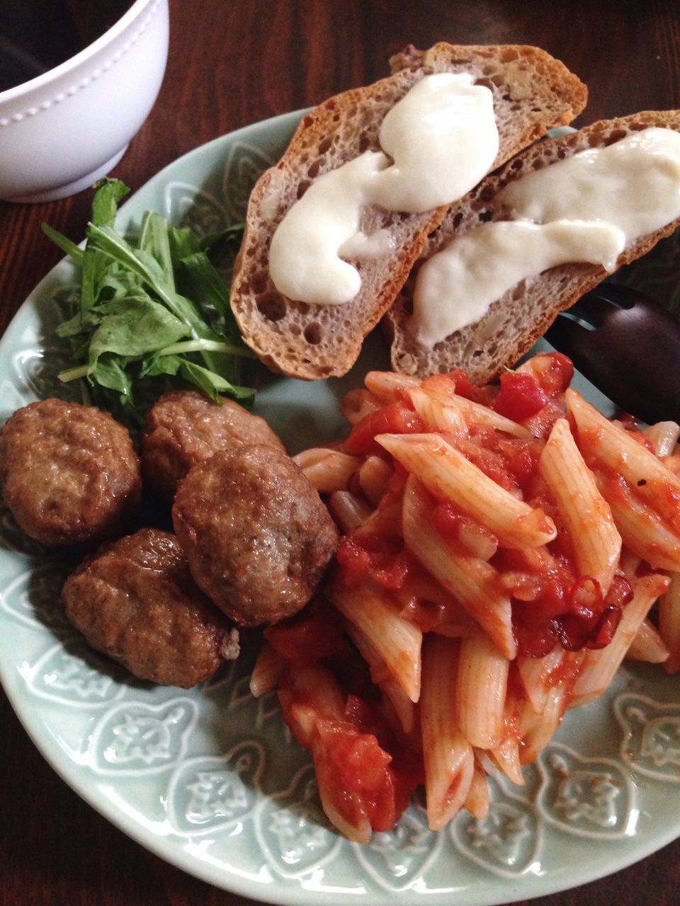 food and drink, food, plate, freshness, ready-to-eat, indoors, serving size, no people, close-up, meat, garnish, healthy eating, italian food, day