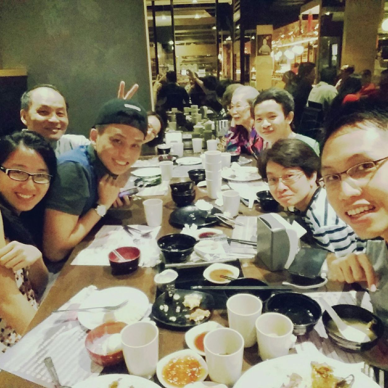 Having Japanese  Buffet With Relatives In Shogun Sunway feeling crazy . ✌