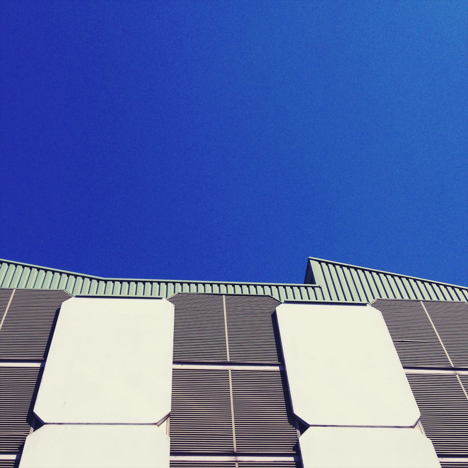 Beautiful stock photos of pattern, Architecture, Blue, Building Exterior, Built Structure