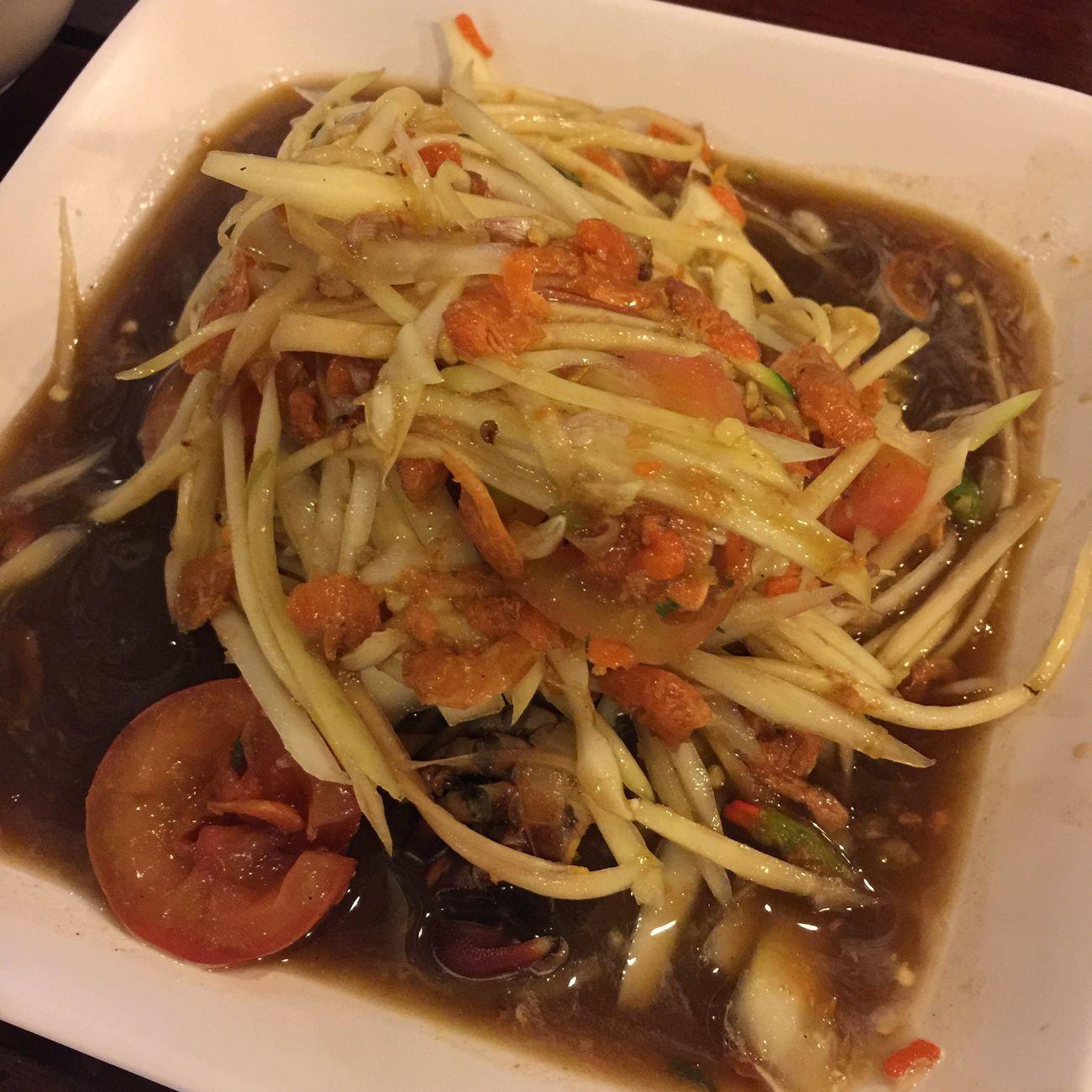 Som tum thai Papaya Salad 😋