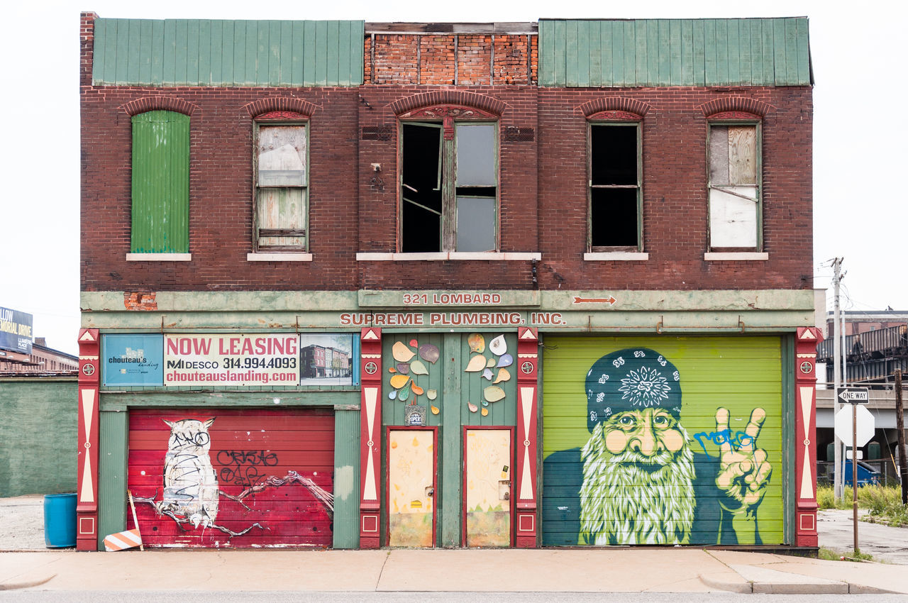 Abandoned Buildings Adult Architecture Architecture Bandana Building Exterior Day Hippie ✌ History Architecture Owl Art Plumbing Stlouis Streetart Urban Windows And Doors