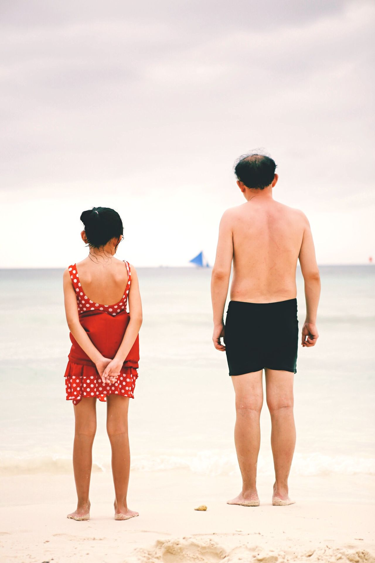 Beautiful stock photos of father, Beach, Beauty In Nature, Bonding, Daughter