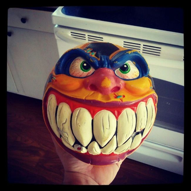 Got another Madballs in the mail today this time it Supermadballs Goaleater 80stoys 80skid