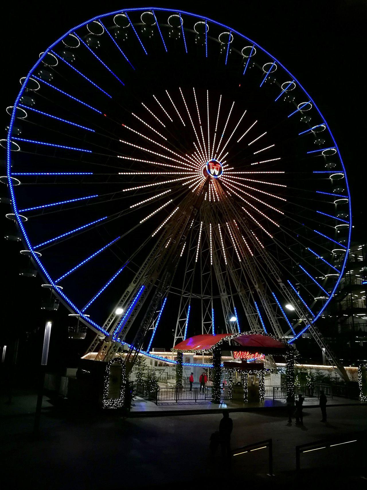 Weihnachtsmarkt Riesenrad Ferris Wheel Smiley Face