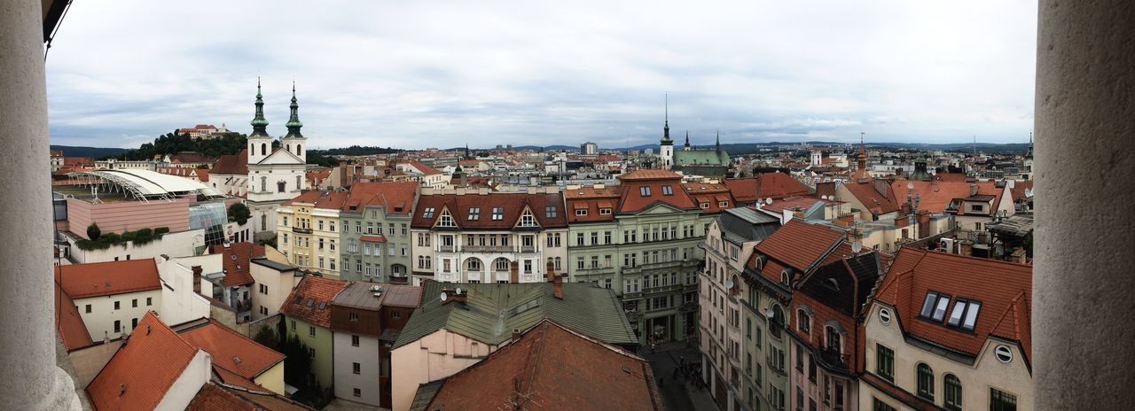 View of Brno, Czech republic Architecture City Brno 2016 Spilberk Castle Cze