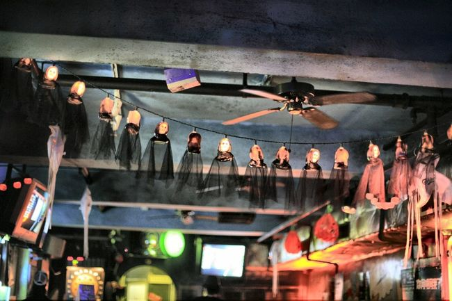 Atmosphere Atmospheric Mood Bar Decoration Fun Funny Ghost Ghostly Ghosts Halloween Haunting  Pub Terror