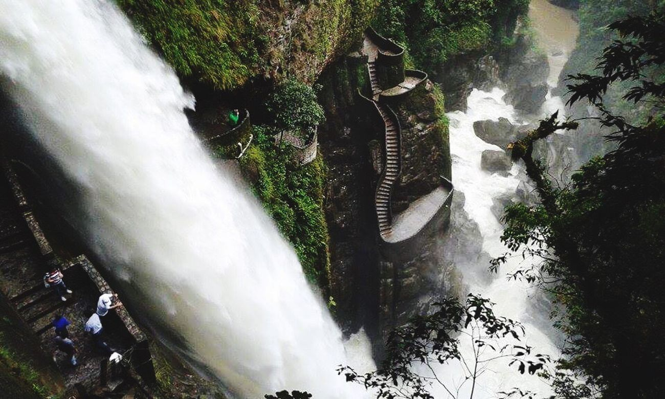 Pailon del Diablo Ecuador Ecuador BañosEcuador Water Power In Nature Nature World First Eyeem Photo