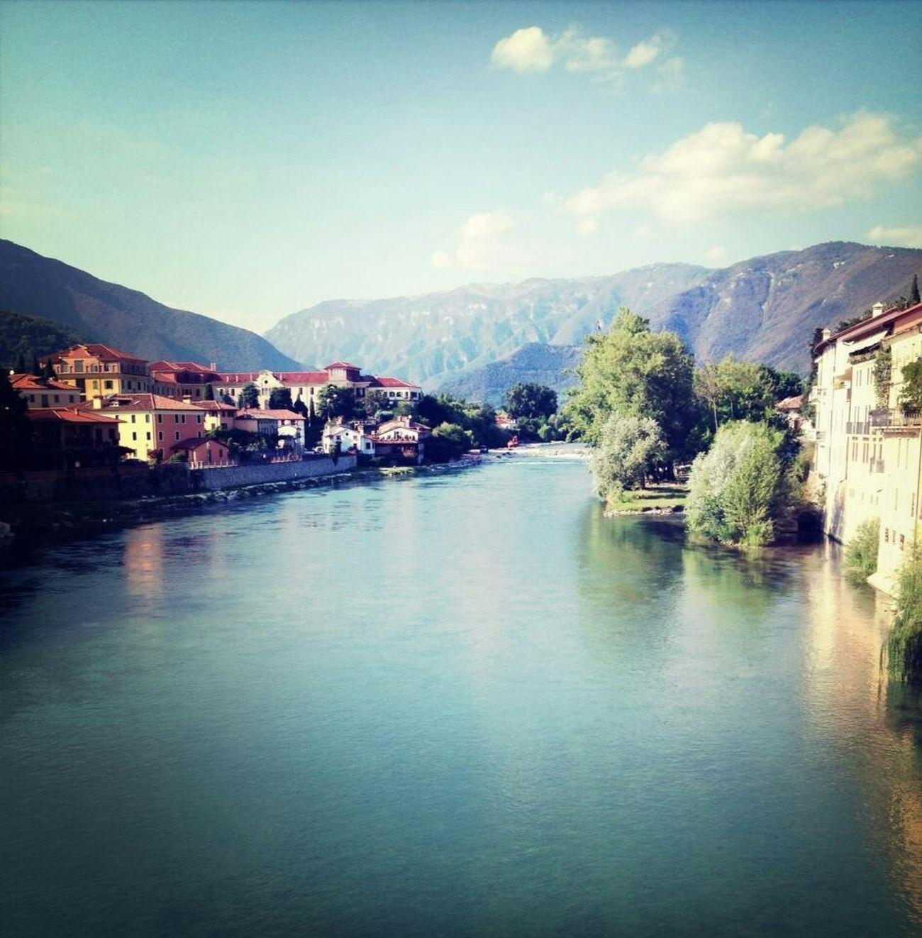 Bassano Del Grappa View Nature_collection River Miuntains