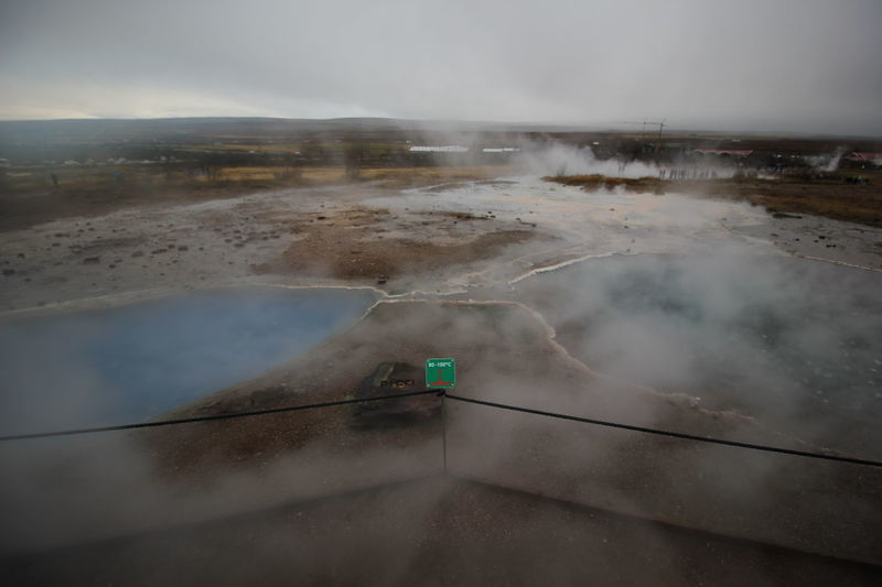 Travel Environment Landscape Nature Water Highway Fog Sky Social Issues Warning Sign Tempreture Boiling No People Day Nofilter Hot Springs Golden Circle Reykjavik Outdoors Scenics Iceland
