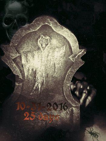 Counting down... Decorations Ilovehalloween Halloween Tombstone
