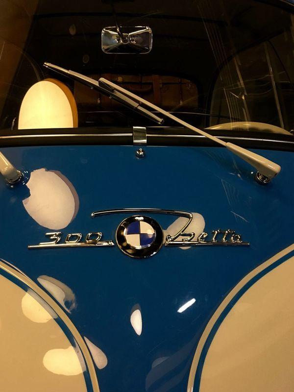 BMW Isetta Exterior Isetta Isetta BMW Logo Bmw Brand Car Close-up No People Old Car Transportation Vehicle Vintage Cars