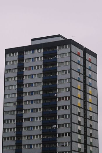 High Rise Building Tower Block  Housingestate Windows Squares And Rectangles Concretedesign East London