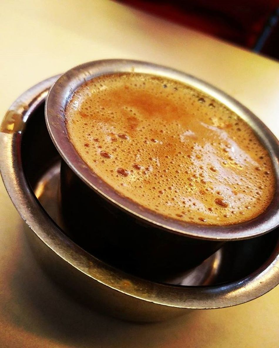 It kicks in, makes you last a day.. Filter Coffee at its best in Nasik. Coffee Filtercoffee Pourover Specialtycoffee Coffeeaddict Coffeelover Coffeegeek Coffeeporn Coffeegram Specialitycoffee CoffeeNerd Pourovercoffee Manualbrewonly Vintage Authentic Southindian Foodtalkindia Zomato Nashikgram Phodus_competition Phodus ..