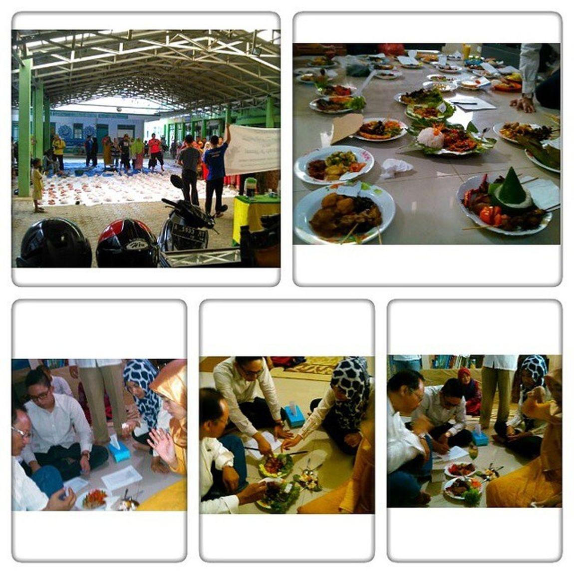 Pesantren daal al azhar Rangkasbitung Banten , merayakan Eid al adha sekaligus jadi juri tamu lomba masak antar kelas