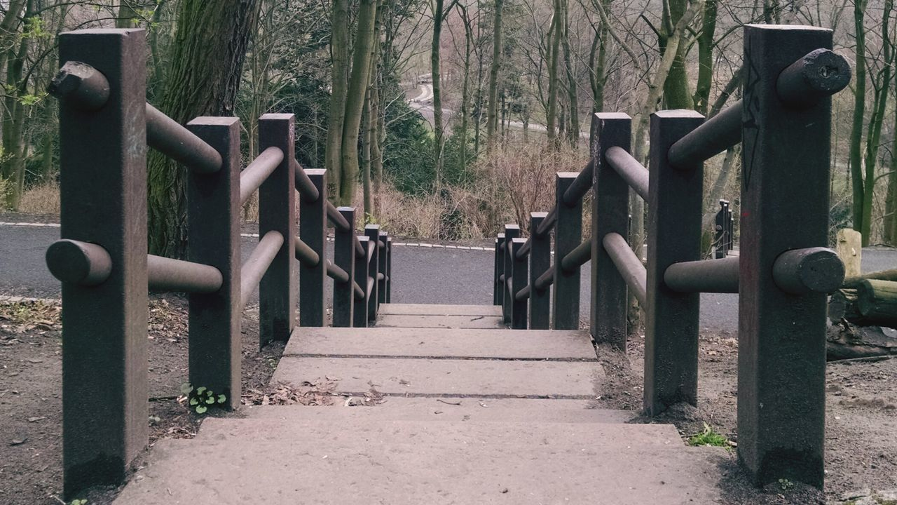 A walk in the Park. Stairs