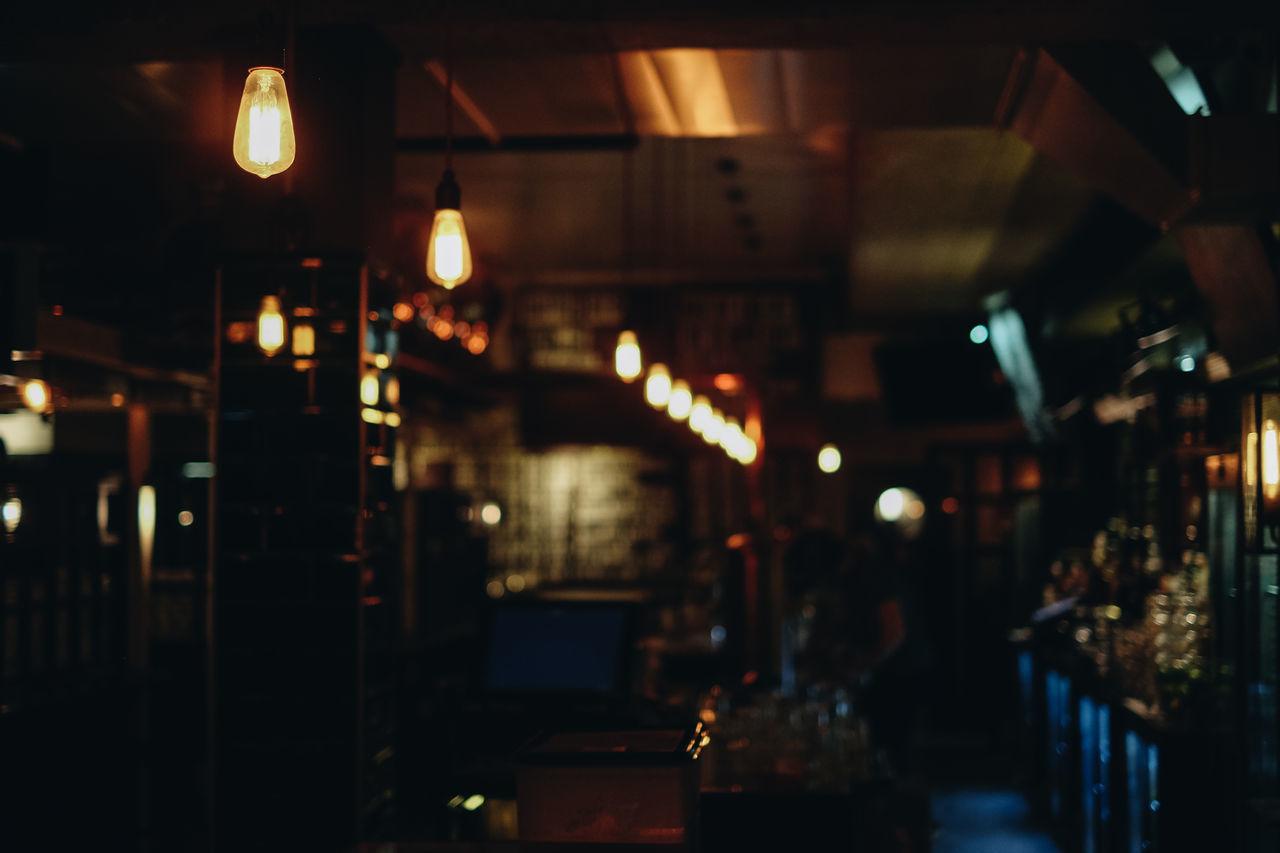 Bar Beer Illuminated Indoors  Lighting Equipment Night No People Pub