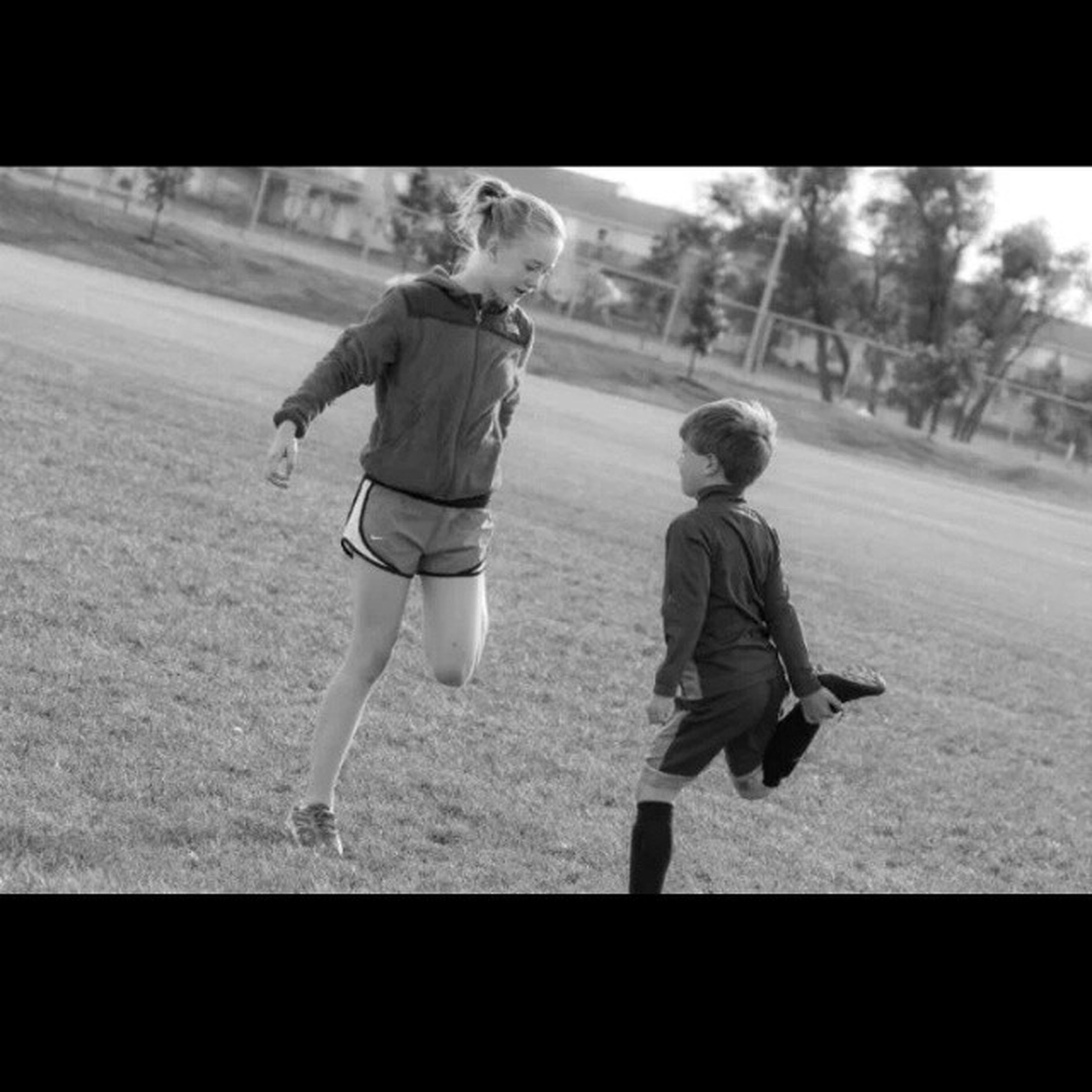 Legit brother and sister picture. 2011 Soccertournament Helpinghimpractice