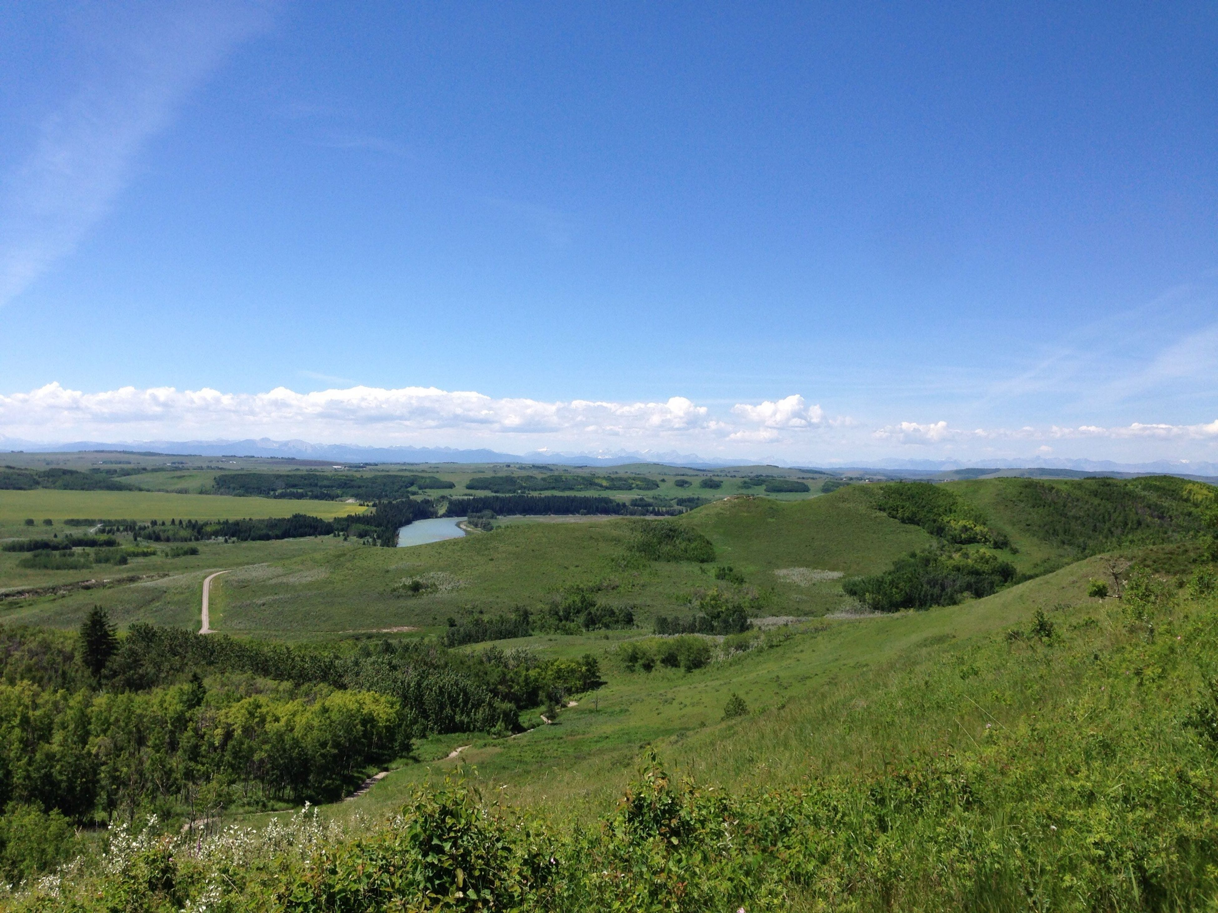 Glenbow Ranch Provincial Park Canada Day Perfect Day Nature