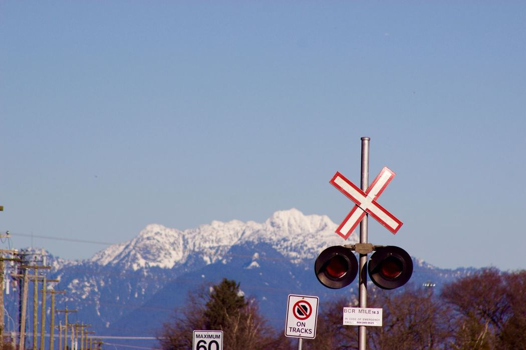 Railroad Crossing Crossing Sign Signal Railway Signal Road Sign Canon T3i Canon Photograpy