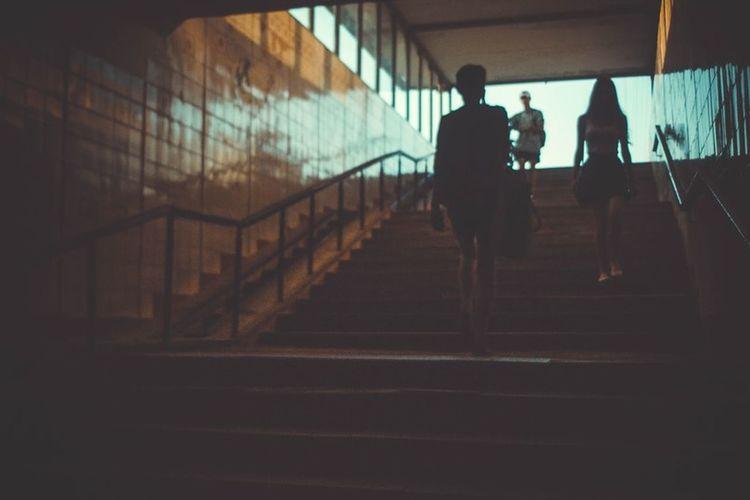 Notes From The Underground Bigcitylife Streetphoto_bw