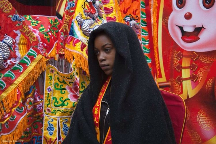 Nouvel an Chinois 2016, Paris. Portrait Woman Paris Streetphotography Followme Human Chinese New Year 2016 Nouvel An Chinois Chinese New Year