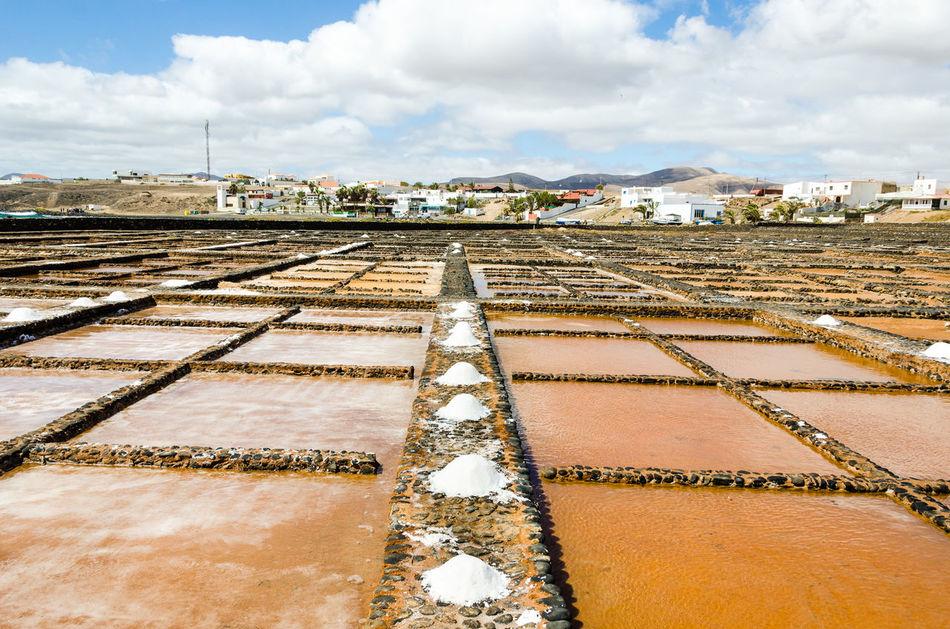 Ahead Cloud - Sky Fuerteventura Las Salinas Museo De La Sal Puerto Del Carmen Sky Vanishing Point