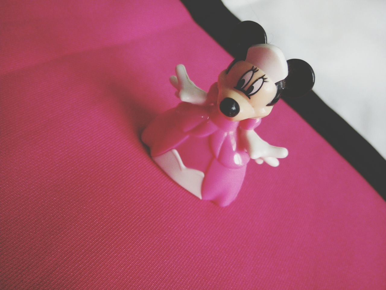 Indoors  Pink Color High Angle View No People Close-up Childhood Day Happiness ♡ Joy Disney Love Minnie Mouse ☆ Never Too Old For Disney  Forever Young Arts Culture And Entertainment