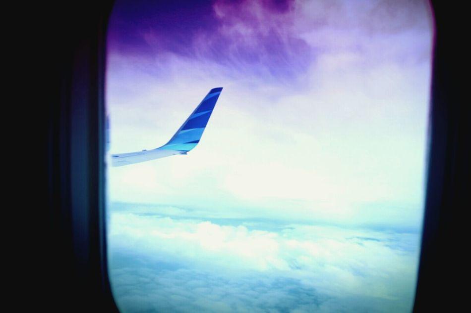 late post. garuda indonesia Fly Garuda Indonesia ..