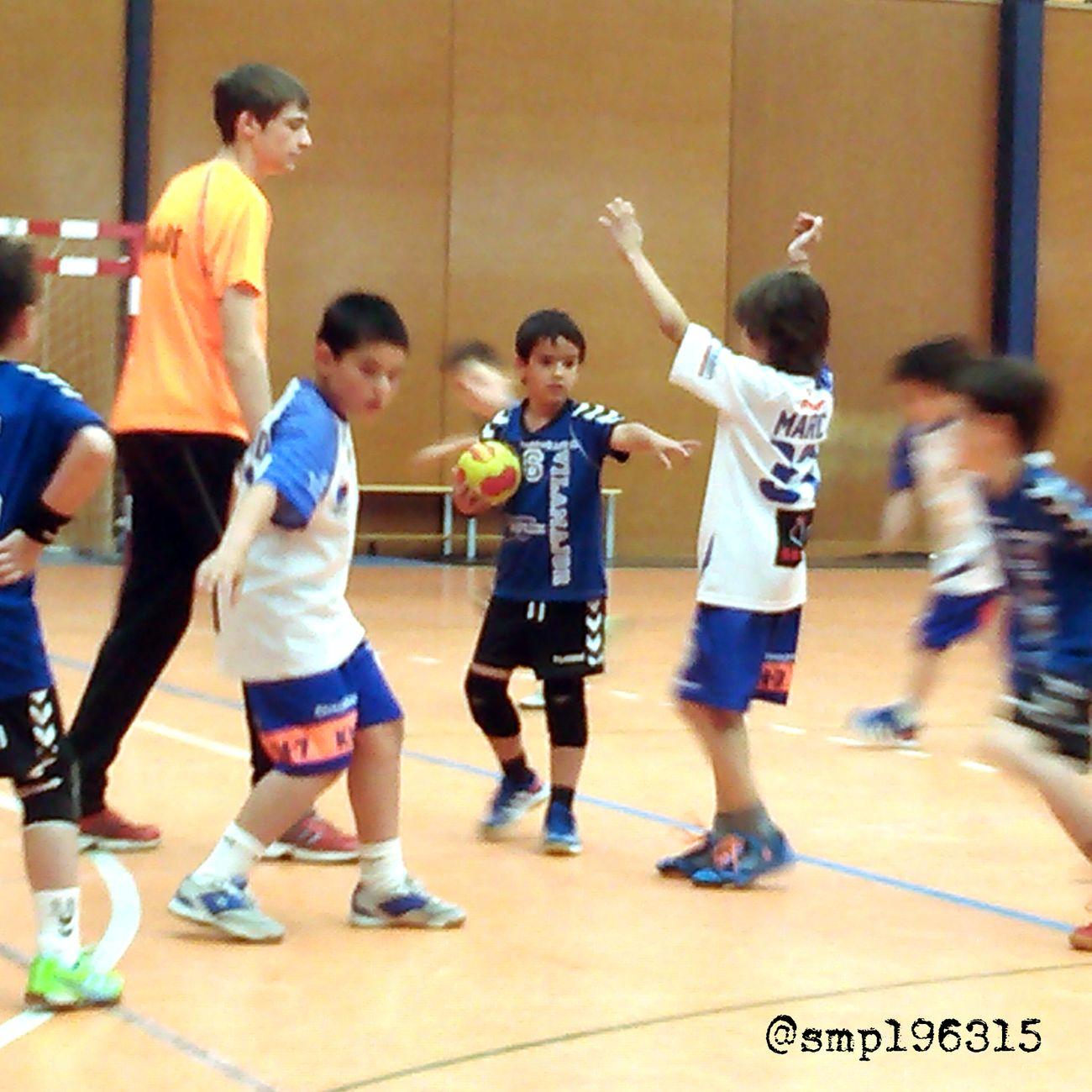 Handball Santantonidevilamajor vs Granollers prebenjamín 10/15. Igersvoriental