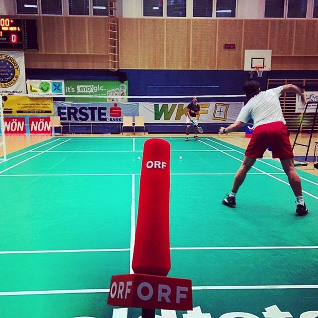 Today: reporter for the austrian broadcasting corporation. Tv Reporter Orf M ödling austria badminton