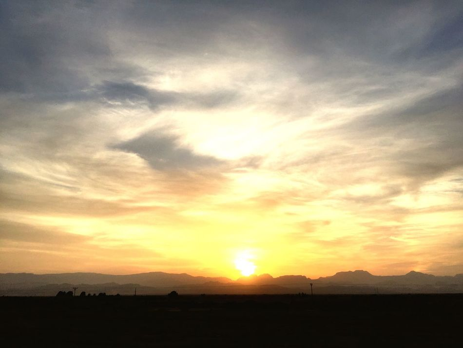 Arava Sunrise Israel Mountains Landscape Outdoors Sky Scenics Beauty In Nature Silhouette