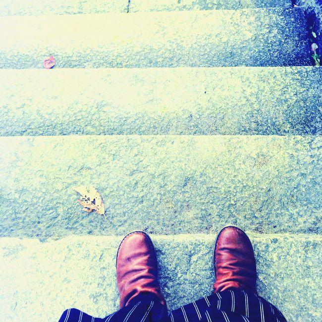 Boots Trippen Taking Photos Minimalism
