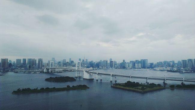 Fuji television. VSCO Tokyo Bridge