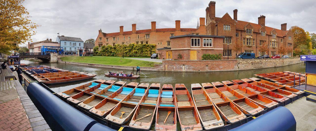 Punting Architecture River Cambridge Cambridgeshire