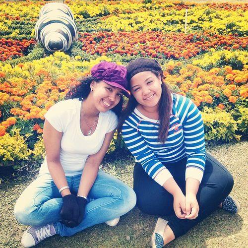 Mi hermanita y yo.. FeriaDeBoquete
