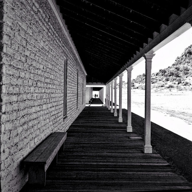 Fort Davis Texas West Texas Perspective Shot On IPhone IPS2016Composition Architecture_bw The Architect - 2016 EyeEm Awards Composition Western Fort The Wild West